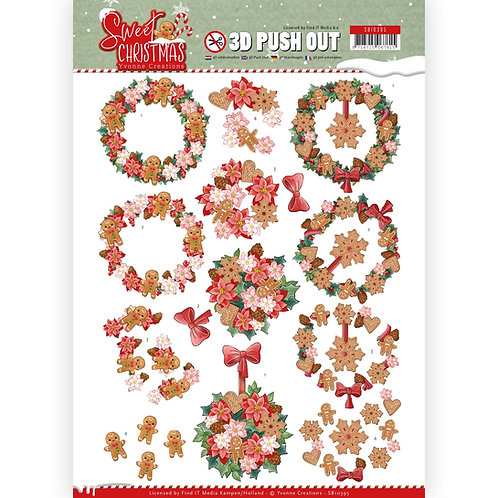 Christmas - Die Cut Decoupage Sheet