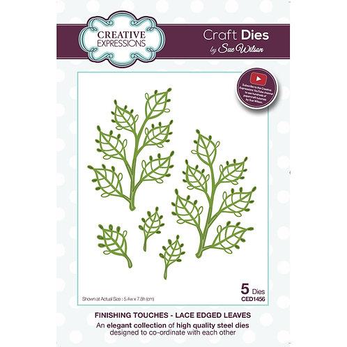 Lace Edged Leaves - Craft Die