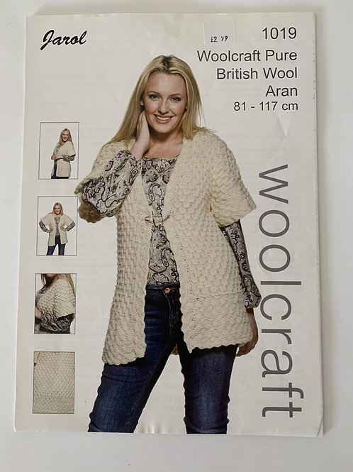 Aran Ladies Cardigan Pattern