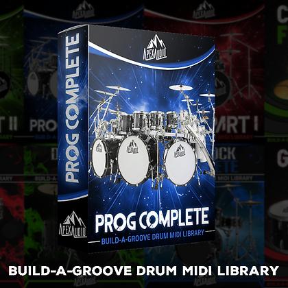PROGRESSIVE - BUILD-A-GROOVE DRUM MIDI LIBRARY