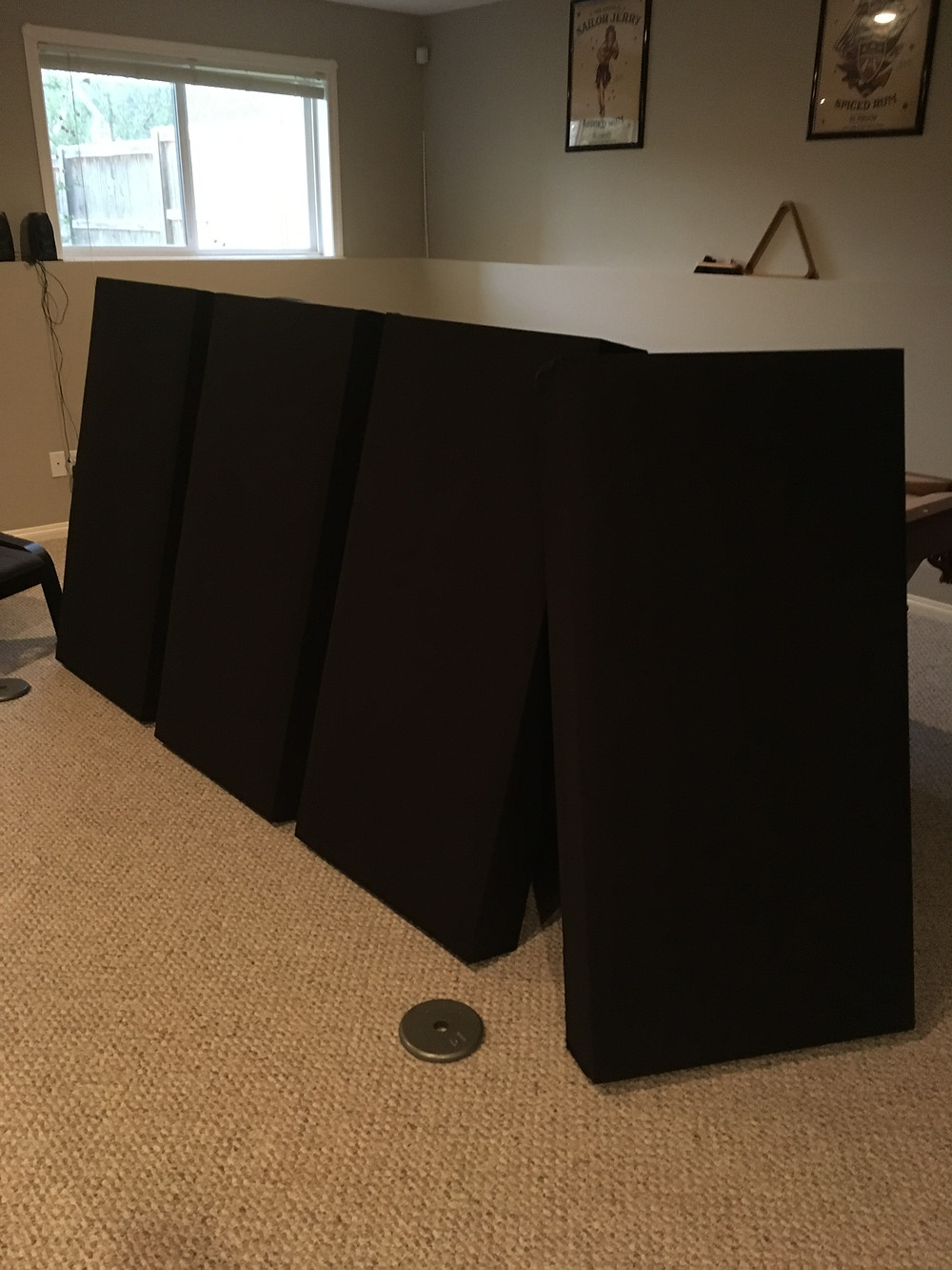 Acoustic Panels all done up