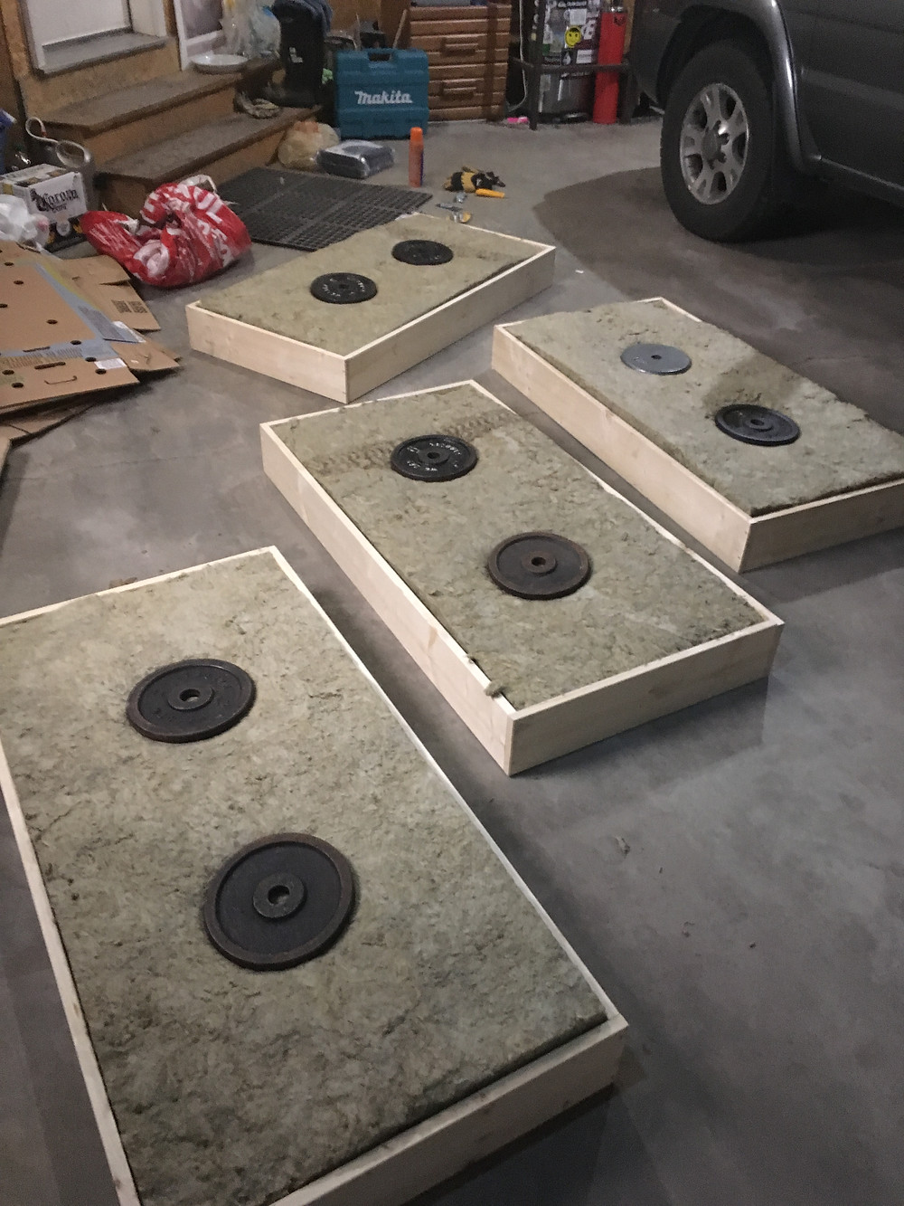 Insulation in Acoustic Panels