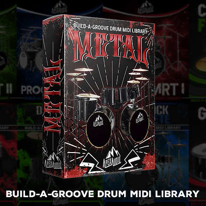 METAL - BUILD-A-GROOVE DRUM MIDI LIBRARY