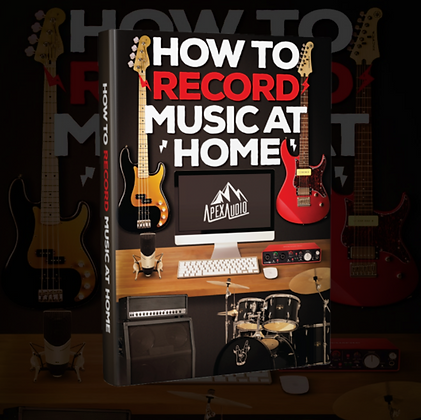 HOW TO RECORD MUSIC AT HOME eBook