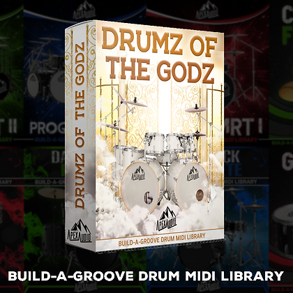 DRUMZ OF THE GODZ - BUILD-A-GROOVE DRUM MIDI LIBRARY