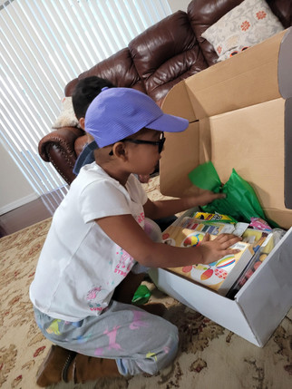 Mariana Explores Her Creative Care Package