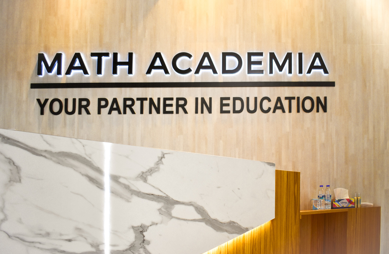 Math Academia Feature Wall