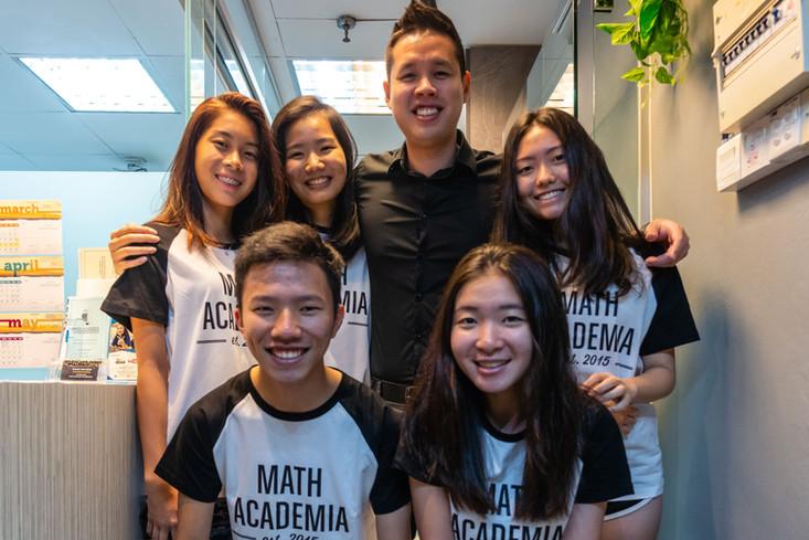 Students at Math Academia