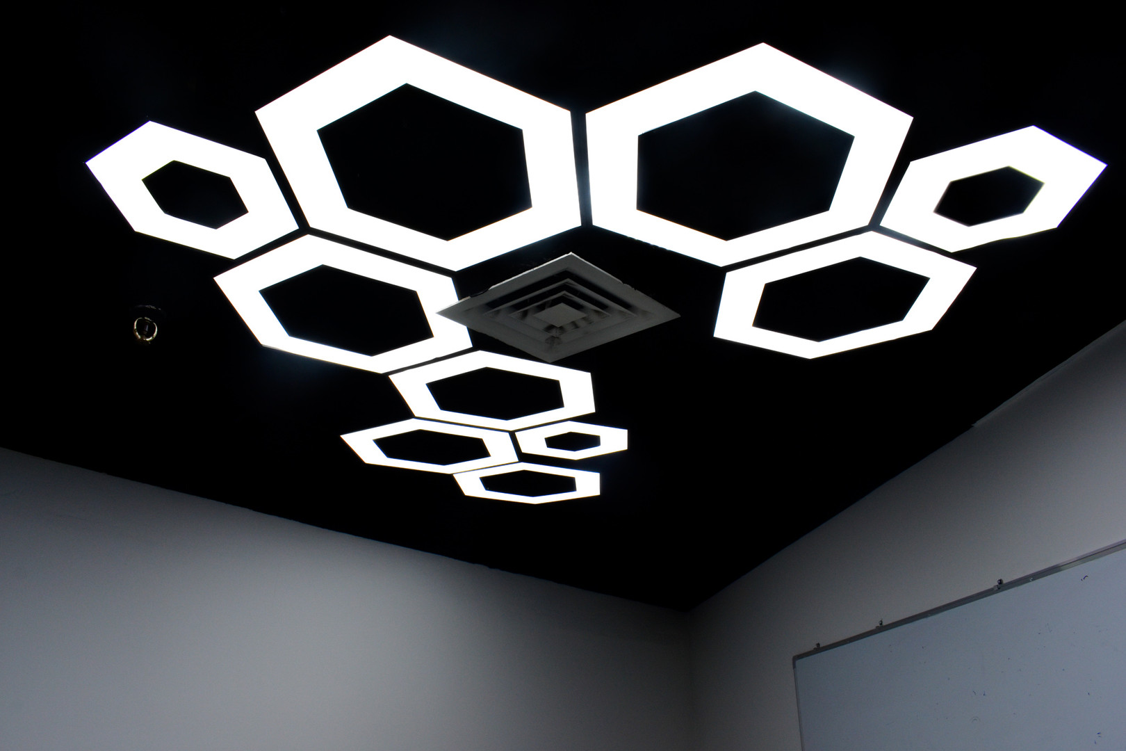 Feature Lights in Classroom