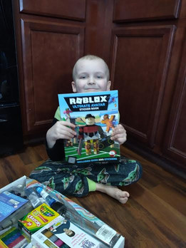 Robby loves Roblox!