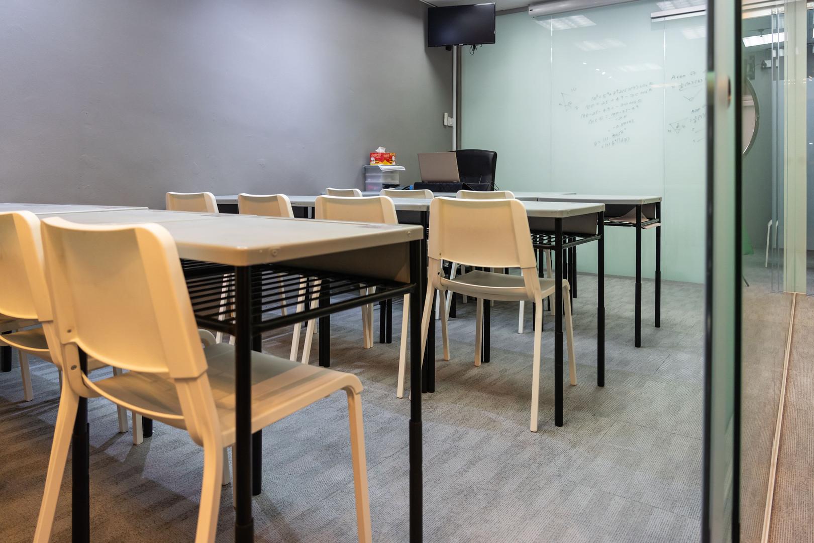 Classrooms at Math Academia
