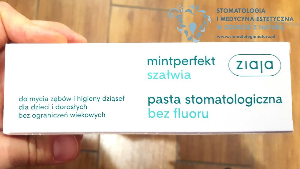 Stomatologia i Medycyna Estetyczna Poznań - pasty bez fluoru