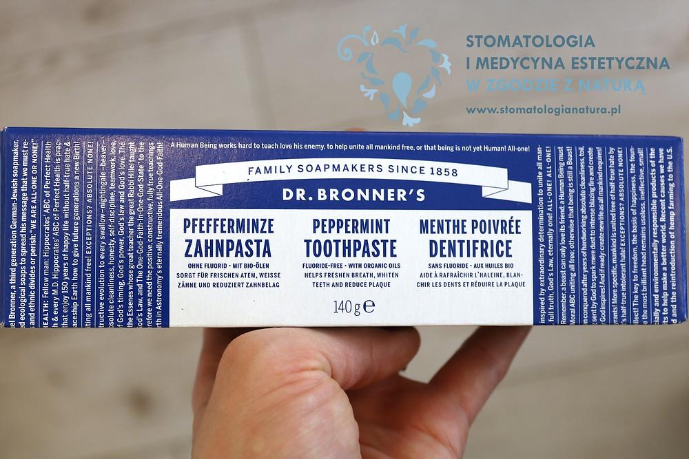 Pasty bez fluoru – stomatologia holistyczna Poznań