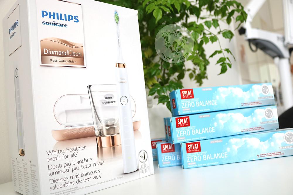 Konkurs Philips Sonicare Diamond Clean i Splat Zero Balance