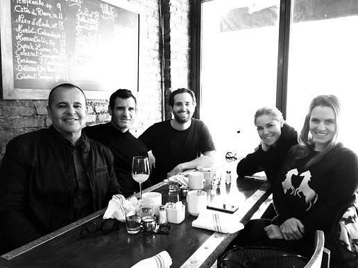 With our crew NY,NY.