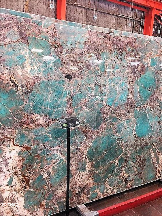quartzite slabs romero & obeji interior design
