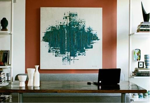 interior designer hector romero recognized by Saatchi Art!