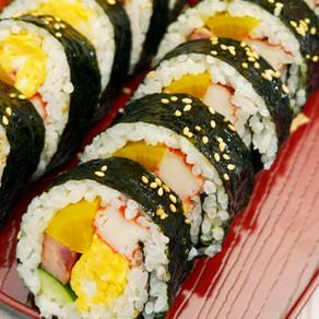 午餐肉紫菜飯卷