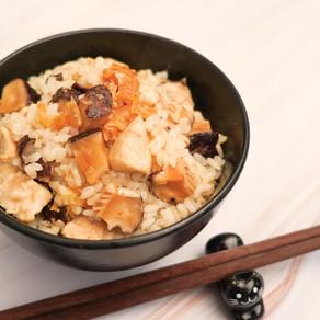 冬菇雞粒飯
