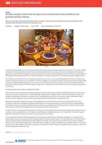 Mesa Posta - Table Decor Fabi Calvo