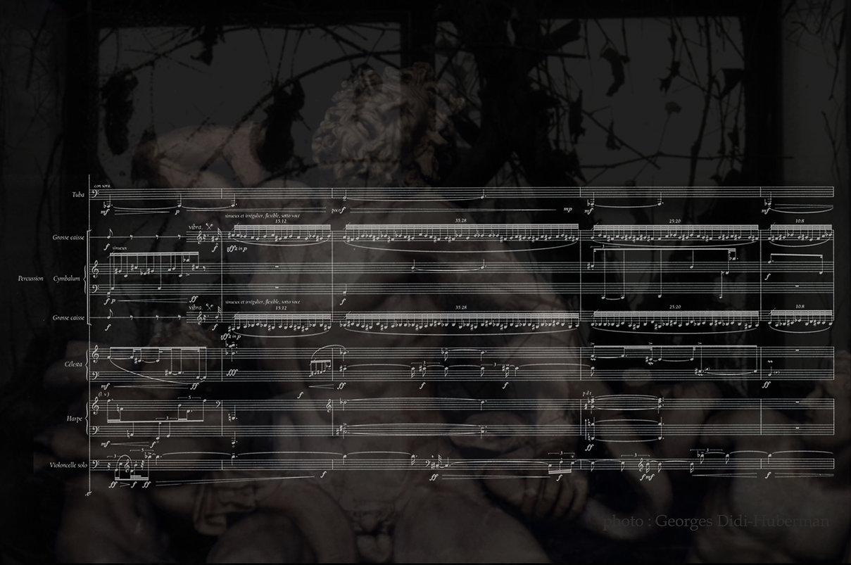 Franck Yeznikian  PHASMES Didi-Huberman Laocoon Cello Queyras