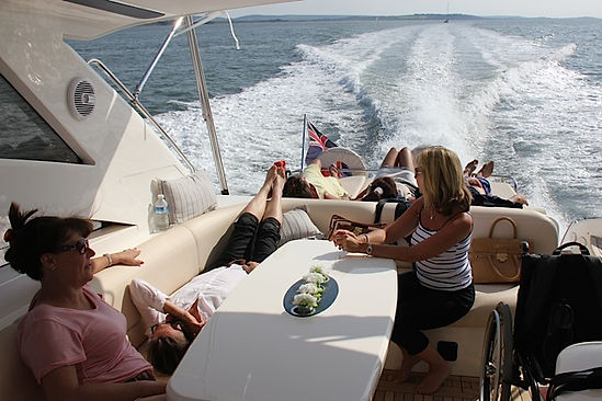 Luxury Yacht Hire in Southampton Solent