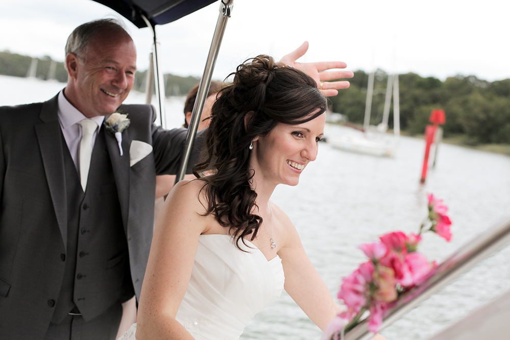 Wedding Day Boat Charter