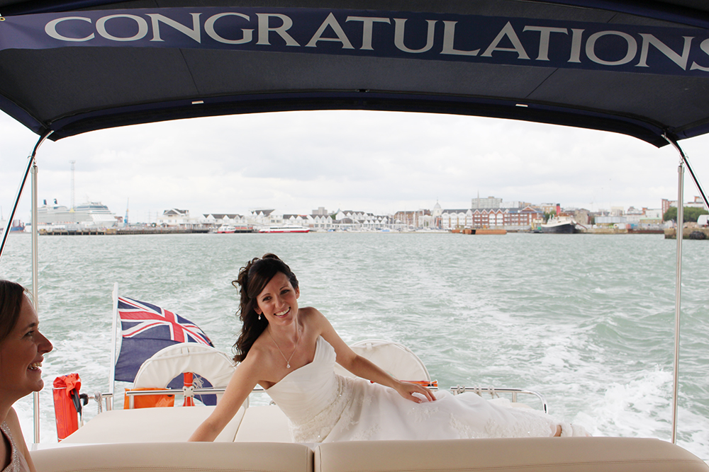 Wedding Boat Hire Portsmouth