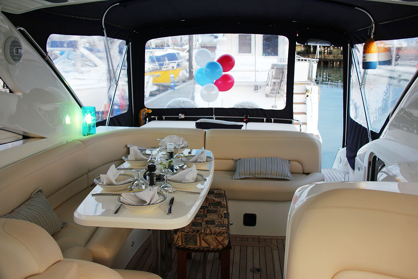 Luxury yacht hire Southampton