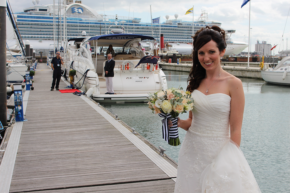 Wedding Boat Hire Southampton