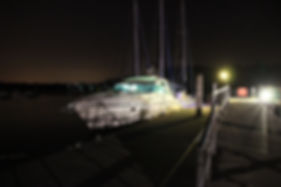 Motor Yacht in Southampton Solent