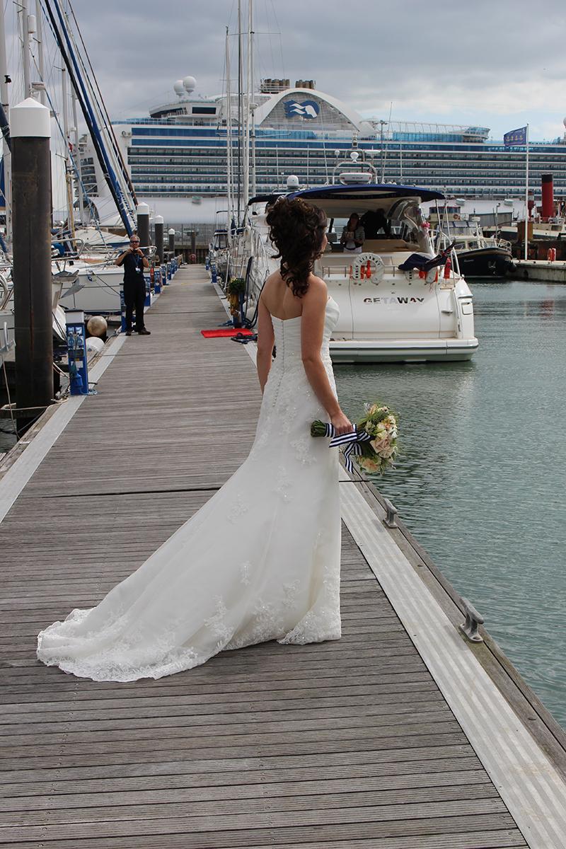 Wedding Day Boat Transport Solent