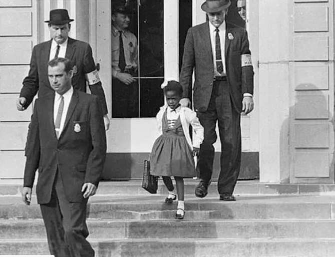 Ruby Bridges, Trailblazer Since 6 Years Old, Walked To School More Than 60 Years Ago To The Date
