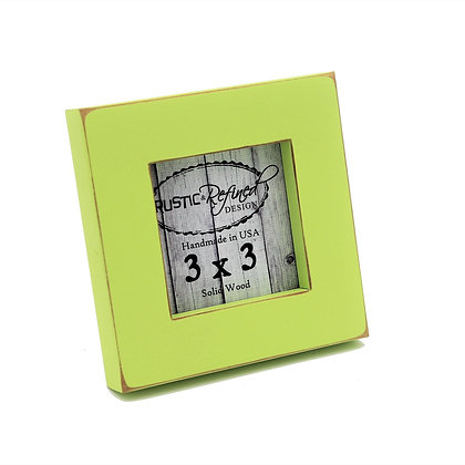 "3x3 1"" Gallery Picture Frame - Citron"