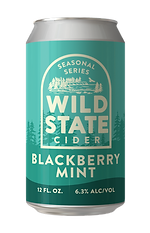 Blackberry Mint Cider