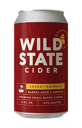 Wild State Cider Cherry Bourbon Barrel A