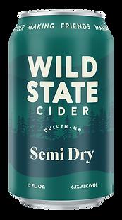Wild State Semi Dry Cider