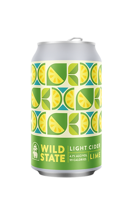 Wild State Light Lime Cider