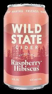 Wild State Raspberry Hibiscus Cider