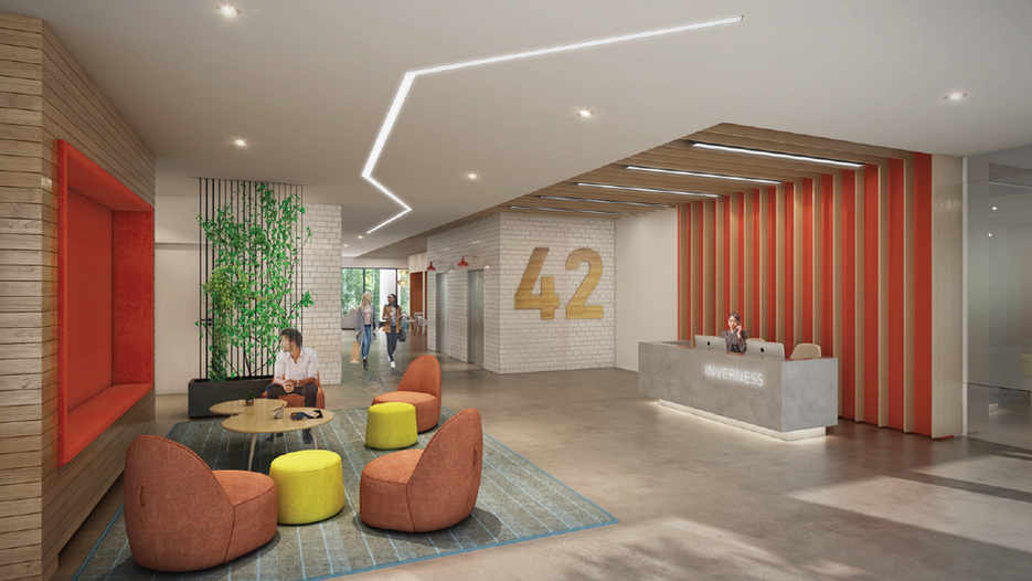 Building 42 Front Lobby
