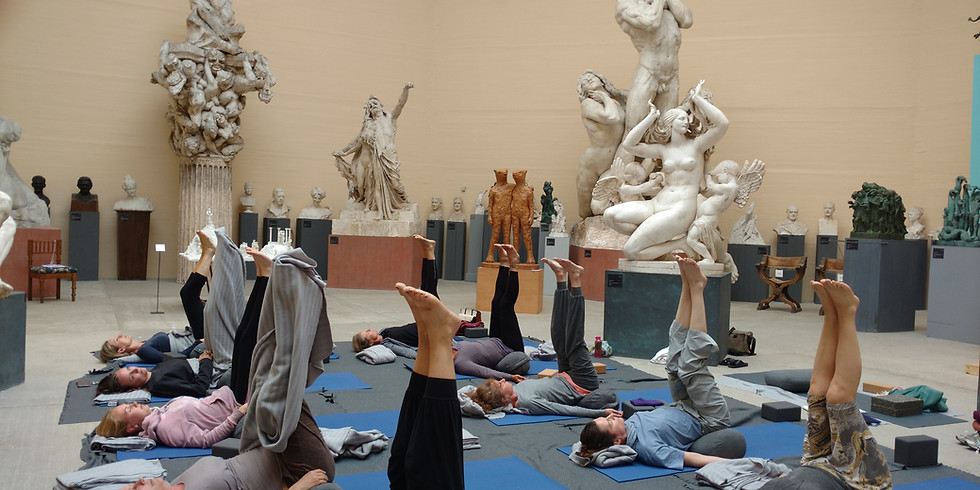 Yoga på Tegners Museum 05/08 | 17:00-21:00 | 400 kr.