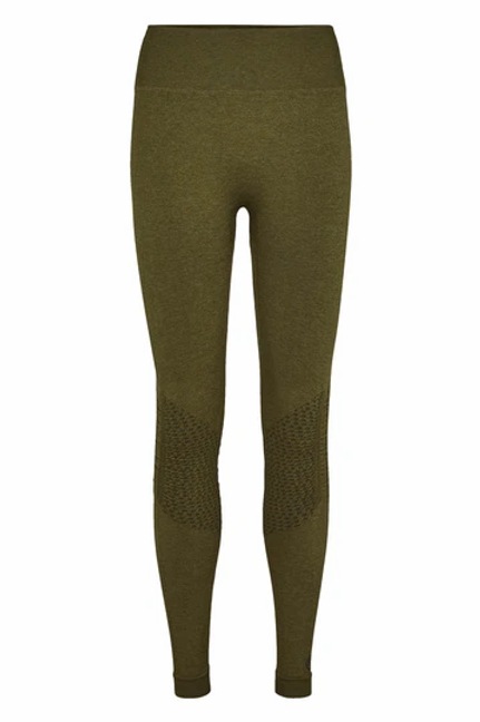 Classic Tights Highrise Long - Army