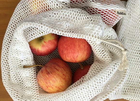 Saco de rede para frutas e legumes
