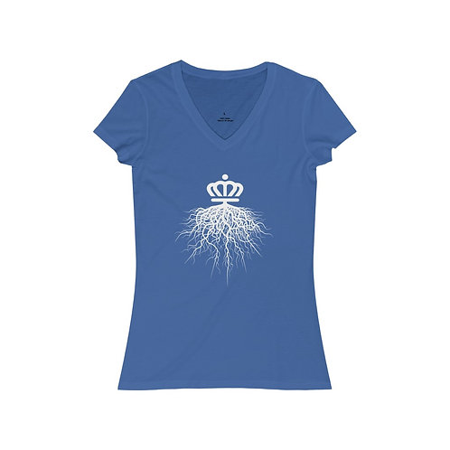Charlotte Roots V-Neck Tee