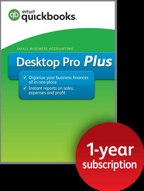 QuickBooks Desktop Pro Plus 2019