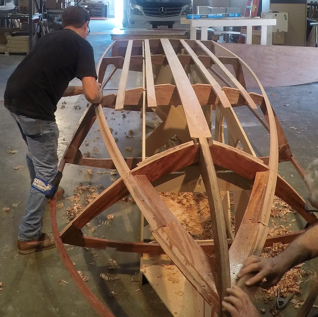 Building a Wooden Boat Kit