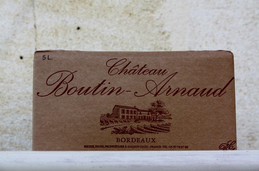 BIB Bordeaux rouge 5 L