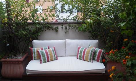 Living garden no terraço - Jardim Botânico - POA
