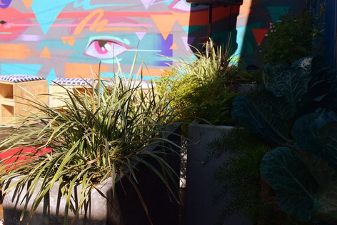 Jardim comestível - estúdio de arquitetura - Partenon - POA