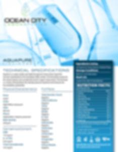 Technical Specifications for Aquapure liquid CBD